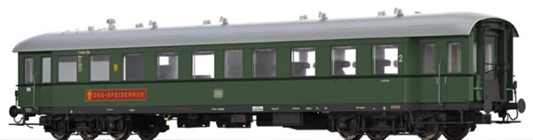 Brawa 46176 - German Passenger/Dining Car BR4ye-36/51 of the DB