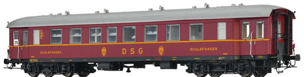 Brawa 46186 - Sleeping Coach WL4ü-36/50