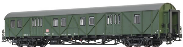 Brawa 46256 - German Baggage Car Mdyg 986 of the DB