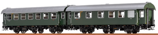Brawa 46301 - 2pc Passenger Coach Set BC3yge and C3yge DB