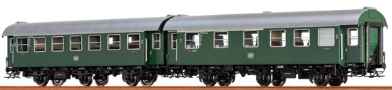 Brawa 46304 - 2pc Passenger Coach Set AB3yg and B3yg DB