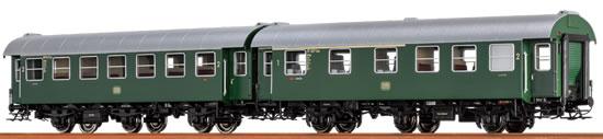 Brawa 46304 - 2pc Passenger Coach Set AB3yg and B3yg DB