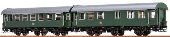 Brawa 46305 - 2pc Passenger Coach Set B3yg and BD3yg DB,