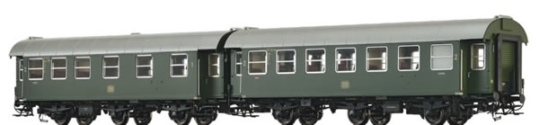 Brawa 46307 - 2pc Passenger Coaches AB3yge and B3yge Set