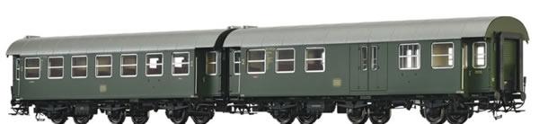 Brawa 46308 - 2pc Passenger Coaches B3yge and BPw3yge Set