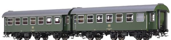 Brawa 46309 - German 2 Piece Passenger Car B3yge of the DB