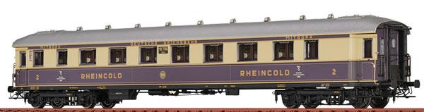 Brawa 46431 - German Rheingold Express Train Coach SB4u DRG