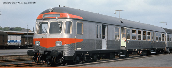 Brawa 46508 - German Passenger Control Cab Car Silberling BDNF 738 of the DB