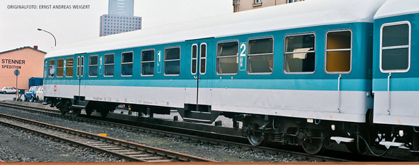 Brawa 46510 - German Passenger Car ABNRZ of the DB AG