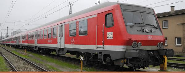 Brawa 46519 - German Passenger Control Cab Car BNRDZF of the DB AG