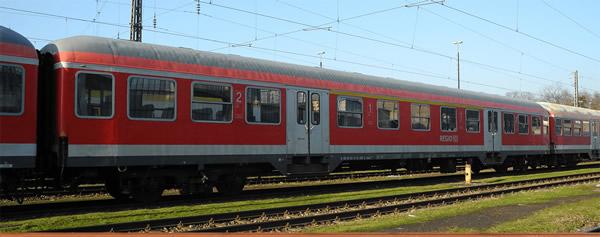 Brawa 46532 - German Passenger Car ABNRZ of the DB AG