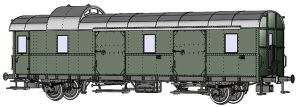 Brawa 46715 - Passenger Coach Pwi-29