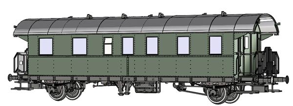 Brawa 46716 - Passenger Coach BCi-28