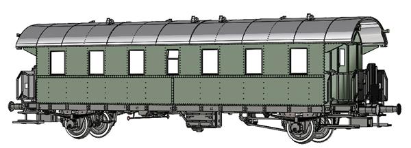 Brawa 46717 - Passenger Coach Ci-28