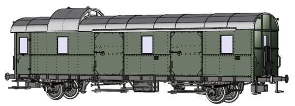 Brawa 46727 - Passenger Coach