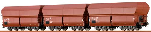 Brawa 47029 - DR H0 Coal Car Set