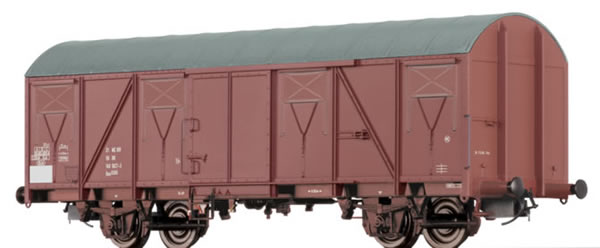 Brawa 47266 - German Covered Goods Wagon Gos of the DR