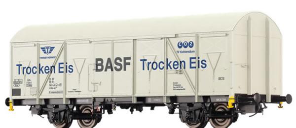 Brawa 47274 - Covered Freight Car Gbs-uv 253 BASF Trocken Eis