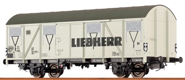 Brawa 47282 - German Box Car Liebherr of the DB