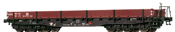Brawa 47502 - German Heavy Duty Flat Car Rrym of the DR