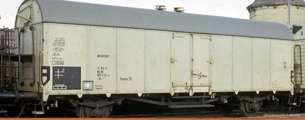Brawa 47608 - German Reefer Car Interfriego of the DB