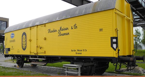 Brawa 47610 - German Reefer Car HAMEICO of the DB
