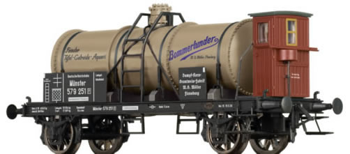 Brawa 47845 - German Tank Car BOMMERLUNDER of the DRG