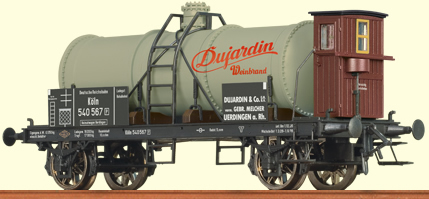 Brawa 47847 - Tank Car K2 Dujardin