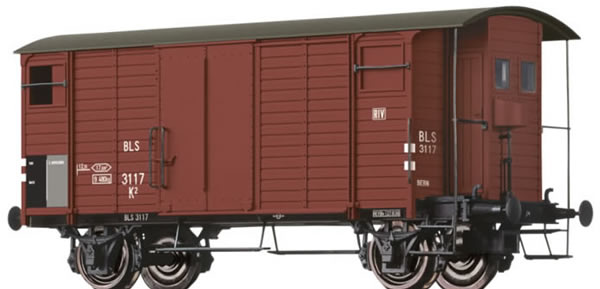 Brawa 47855 - Covered Freight Car K2