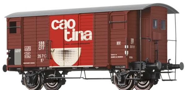 Brawa 47859 - Covered Freight Car K2 Caotina