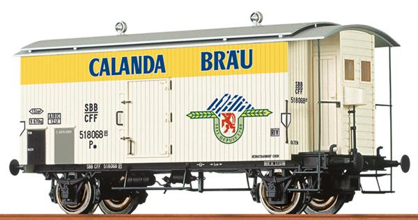Brawa 47868 - Swiss Beer Car Calanda of the SBB
