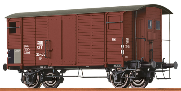 Brawa 47870 - Swiss Box Car K2 of the SBB