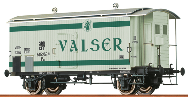 Brawa 47873 - Swiss Box Car Valser of the SBB