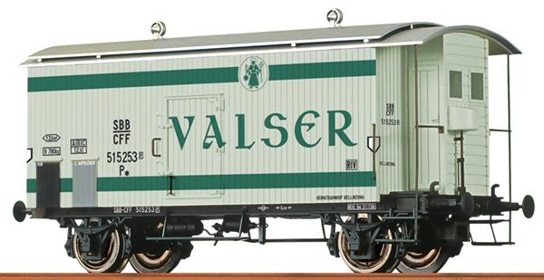 Brawa 47873 - Swiss Box Car Valser of the SBB