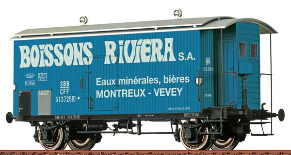 Brawa 47879 - Freight Car K2 Boissons Riviera