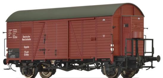 Brawa 47947 - German Coverd Goods Wagon Grhhs of the DRG