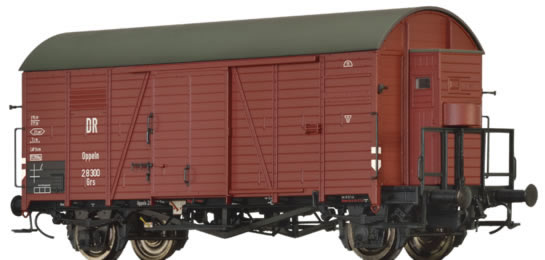 Brawa 47948 - German Covered Goods Wagon Grs of the DRG