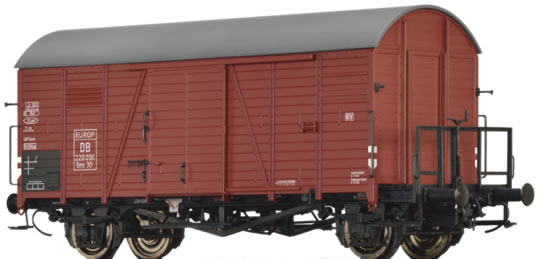 Brawa 47950 - German Covered Goods Wagon Gms 30 Europ of the DB