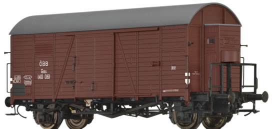 Brawa 47952 - Austrian Covered Goods Wagon Gms of the OBB