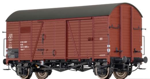 Brawa 47959 - German Covered Goods Wagon Gklm200 of the DB