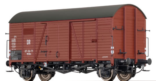 Brawa 47960 - German Covered Goods Wagon Mrhhs of the DR