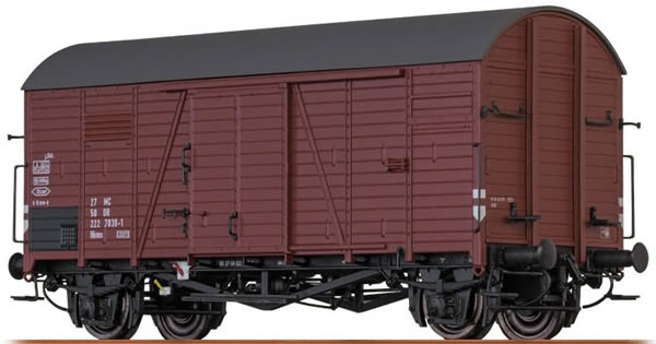 Brawa 47961 - Covered Freight Car Hkms