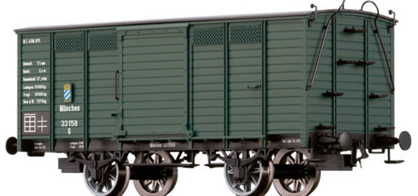 Brawa 48027 - Covered Freight Car G