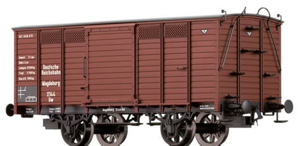 Brawa 48028 - Covered Freight Car Gw