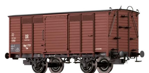 Brawa 48029 - Covered Freight Car Gw Brit-US-Zone