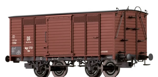 Brawa 48029 - Covered Freight Car Gw Brit-US-Zone