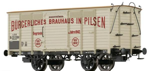 Brawa 48030 - Covered Freight Car Gb Pilsen