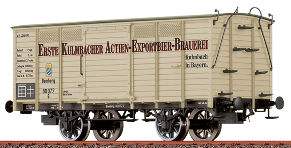 Brawa 48038 - Freight Car Kulmbache
