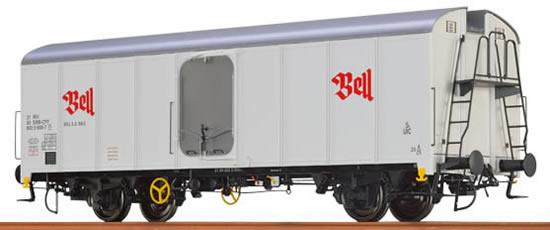 Brawa 48333 - Refrigerator Car UIC Standard 1 Bell SBB