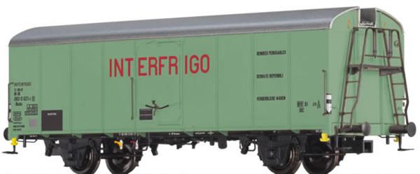 Brawa 48338 - German Refrigerator Car Interfrigo of the DB